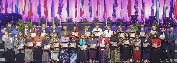 ISC BLESS Certificates Recipients 2016