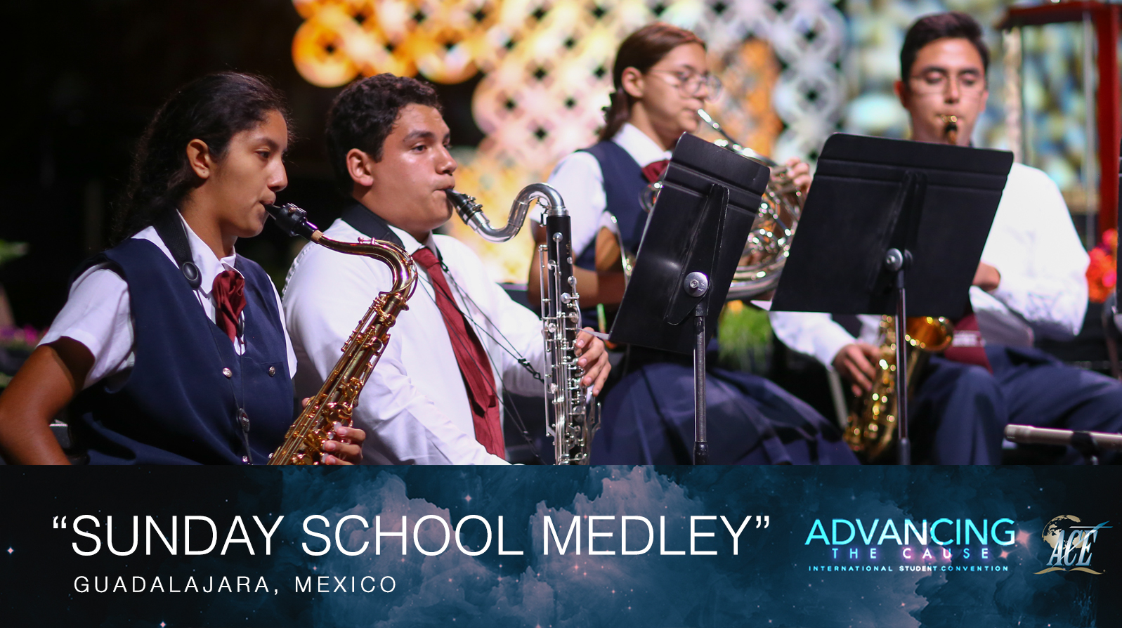 "Small Instrumental Ensemble from Mexico, ""Sunday School Medley"" - ISC 2018"