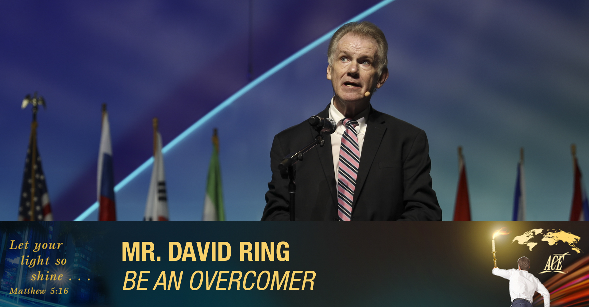 "Sermon by David Ring ""Be An Overcomer"" - ISC 2019"