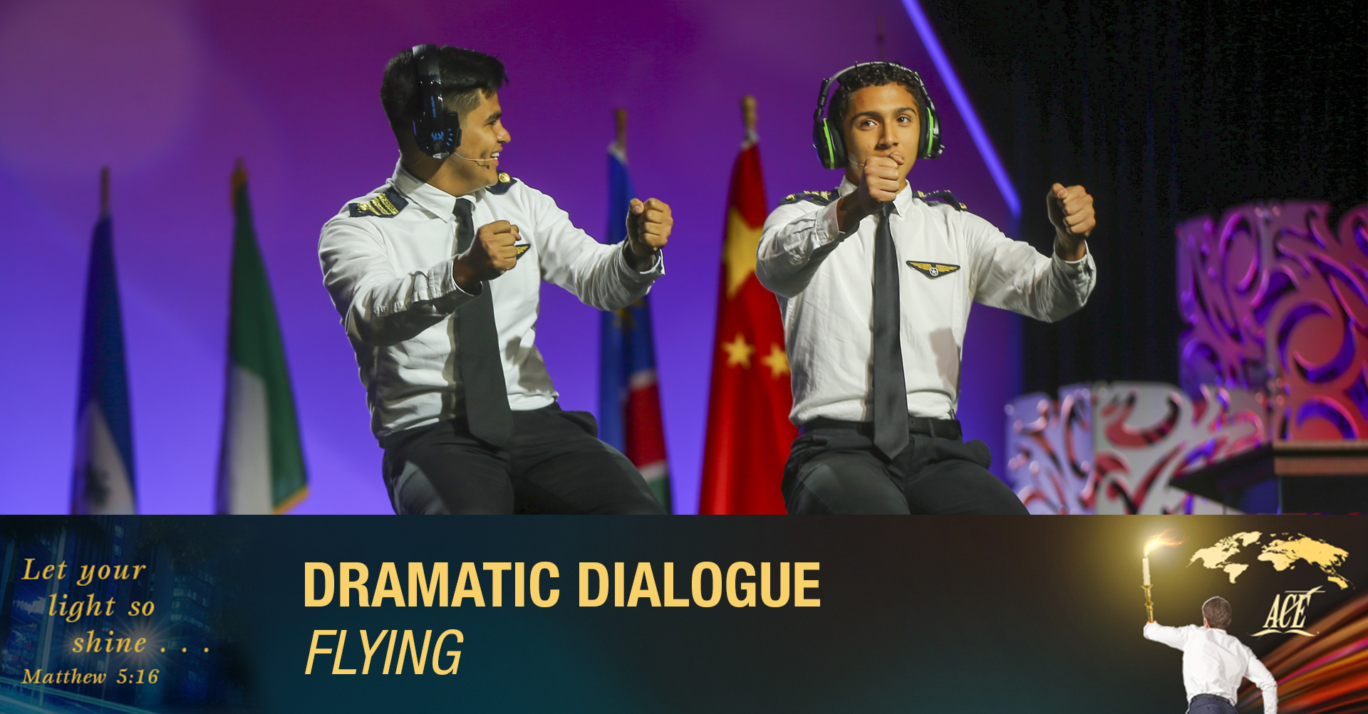 """Dramatic Dialogue, """"Flying"""" - ISC 2019"""