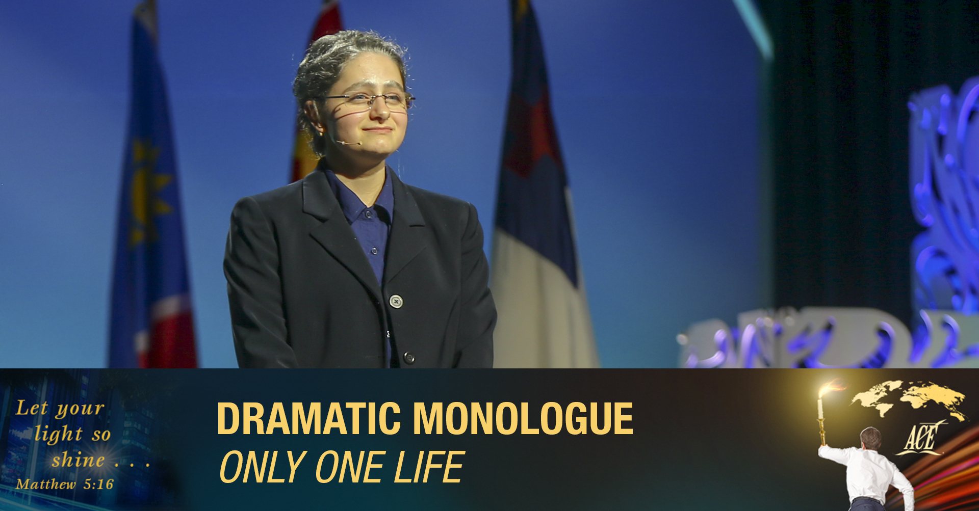 """Dramatic Monologue, """"Only One Life"""" - ISC 2019"""