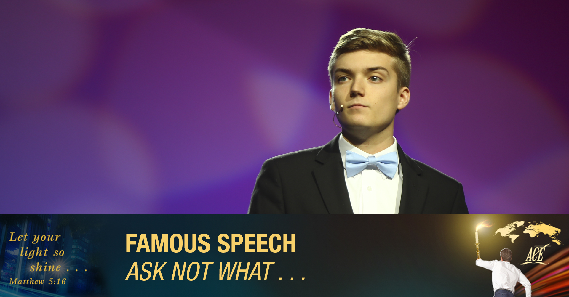 """Famous Speech, """"Ask Not What"""" - ISC 2019"""