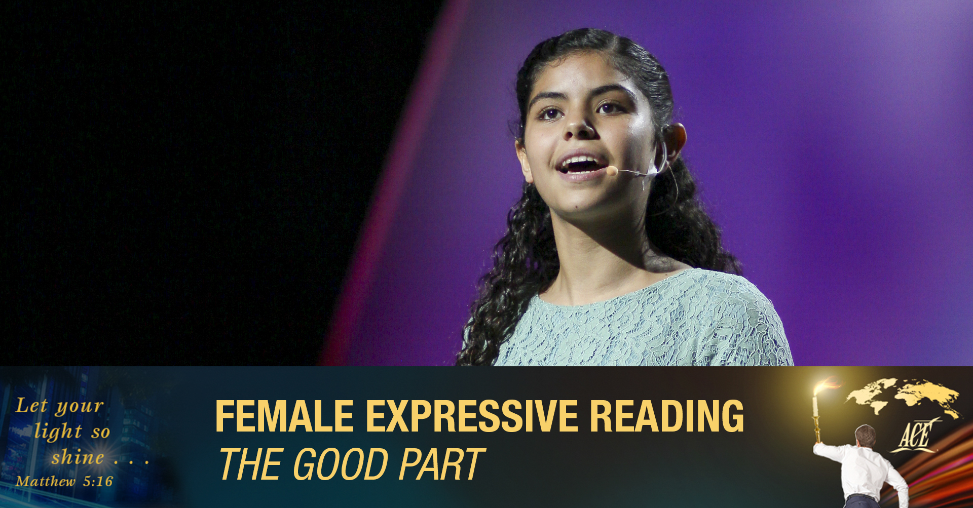 """Female Expressive Reading, """"The Good Part"""" - ISC 2019"""