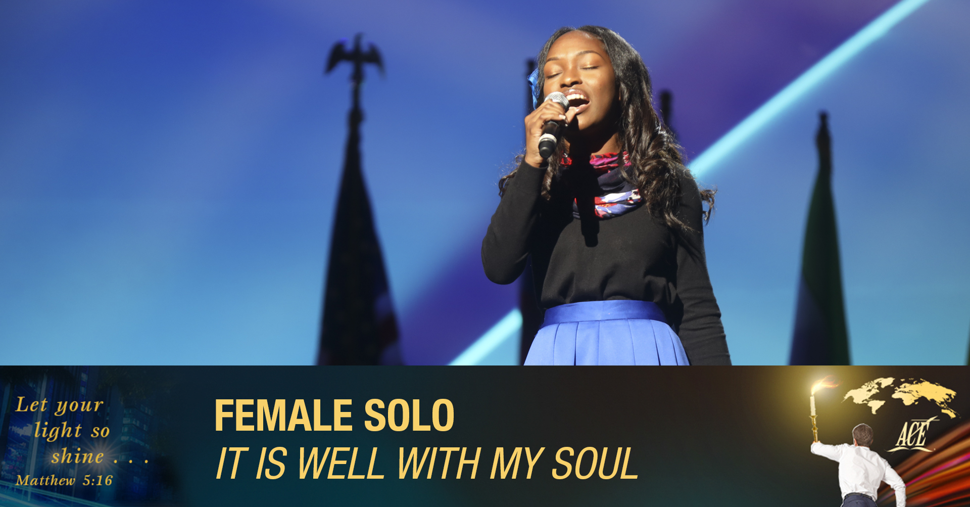 """Female Solo, """"It Is Well With My Soul"""" - ISC 2019"""