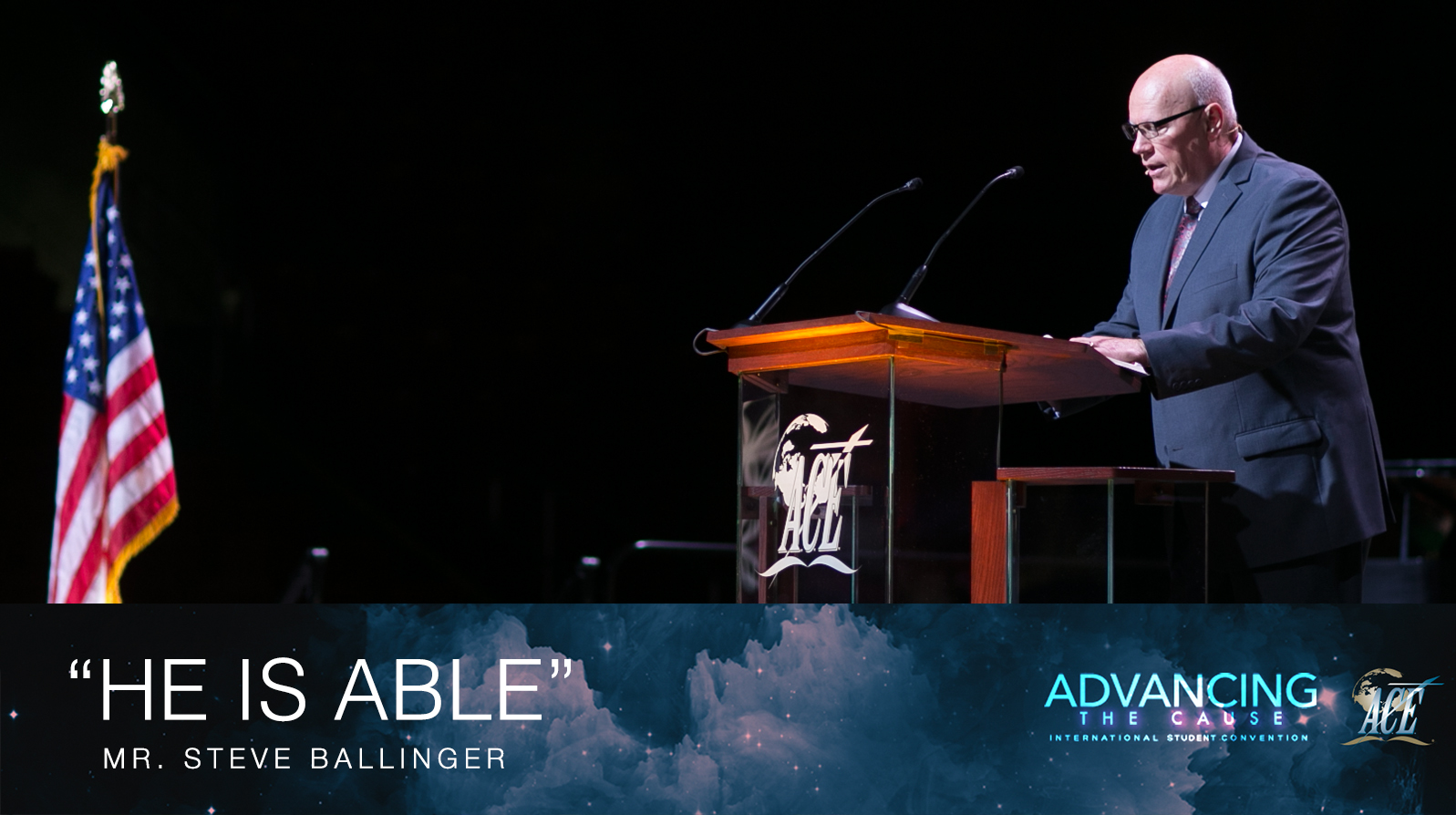 "Sermon by Steve Ballinger ""He is Able"" - ISC 2018"