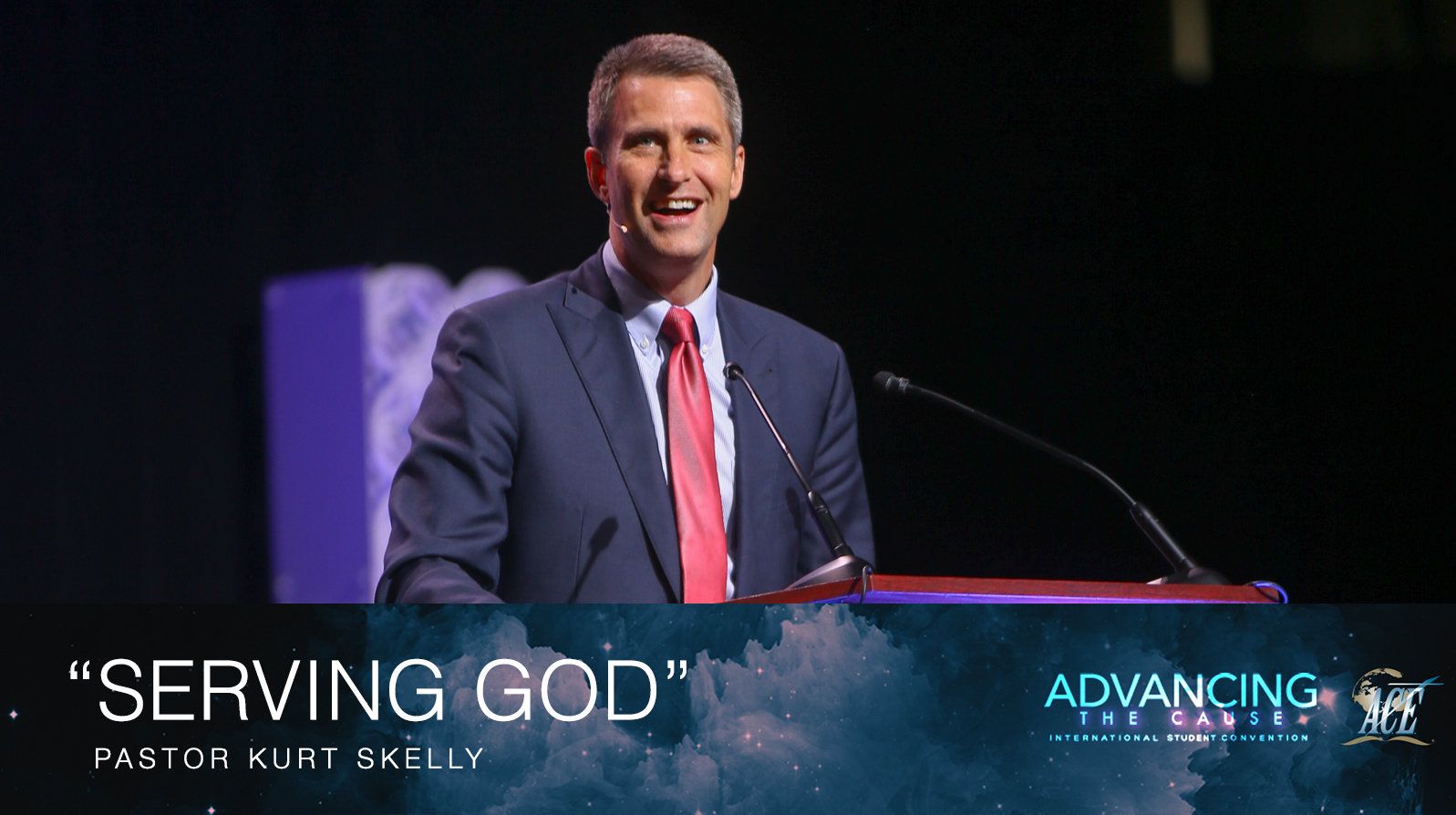"Sermon by Pastor Kurt Skelly ""Serving God"" - ISC 2018"