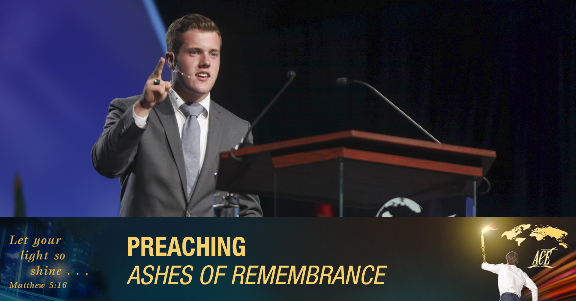 """Preaching, """"Ashes of Remembrance"""" - ISC 2019"""