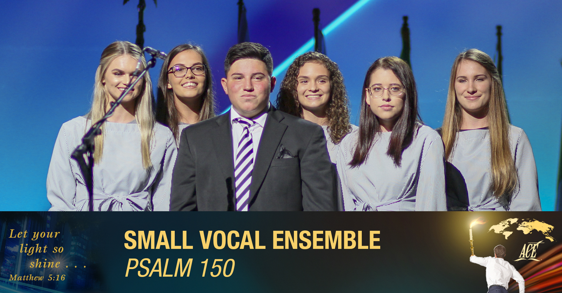"""Small Vocal Ensemble, """"Psalm 150"""" - ISC 2019"""